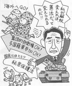 「1972年の自衛権に関する政府見解の全文」ー日本国憲法による「集団的自衛権」の否定