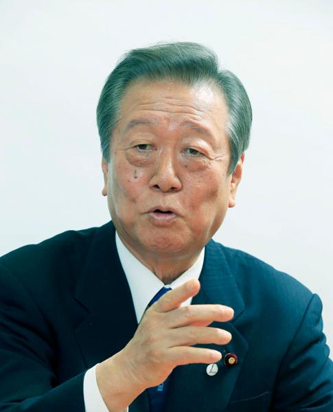 小沢新党発言と政策連合