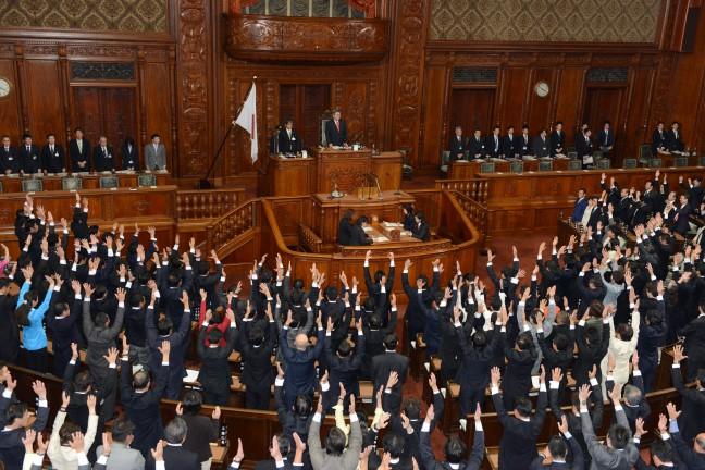 通常国会開会直後の解散・総選挙が再浮上