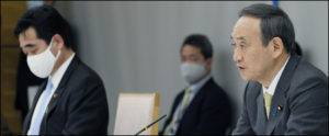政府=菅義偉政権の12月月齢報告、「個人消費の悪化」認めるー国内感染者過去最多を更新