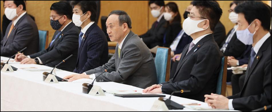 現代版インパール作戦しか行わない菅政権を早期退陣に追い込む(首相年頭記者会見追記)