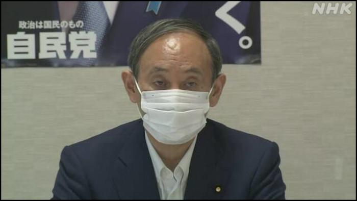 菅首相(自民党総裁)